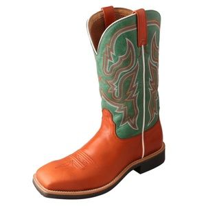 NEW TWISTED X WOMEN'S TEAL TOP HAND BOOT